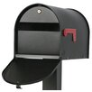 Solar Group Post Mounted Mailbox
