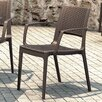 Compamia Capri Stacking Dining Arm Chair (Set of 2)