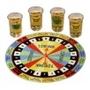 Style Setter 5 Piece Shout Out Shot Glass Drinking Roulette Game Set