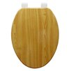 Trimmer Molded Wood Elongated Toilet Seat