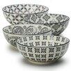 Signature Housewares Print 1 4 Piece Dining Bowl Set