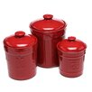 Signature Housewares 3 Piece Sorrento Canister & Lid Set