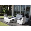 SkyLine Design Axis 4 Seater Sofa Set with Cushions