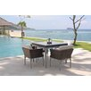 SkyLine Design Brafta 4 Seater Dining Set with Cushion