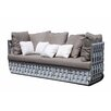 SkyLine Design Strips 3 Seater Sofa with Cushion
