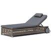 SkyLine Design Castries Sun Lounger with Cushion