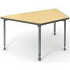 "Paragon Furniture A&D 60"" x 30"" Trapazoidal Activity Table"