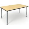 Paragon Furniture A&D Laminate Adjustable Height Standard Desk