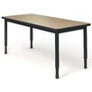 Paragon Furniture Laminate Adjustable Height Standard Desk