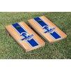 Victory Tailgate NCAA Seton Hall University Pirates Hardcourt Stripe Wooden Cornhole Game Set