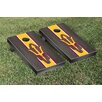 Victory Tailgate Stained Stripe Version 2 Cornhole Game Set