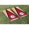 Victory Tailgate NCAA Hardcourt Triangle Version 1 Cornhole Game Set