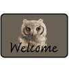 Dandy Owl Welcome Doormat