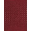 Dandy Machine Washable Red Area Rug