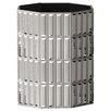 NU Steel Glitz Wastebasket