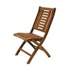 Outdoor Interiors Folding Side Chair (Set of 2)