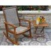 Outdoor Interiors Eucalyptus Rocking Chair