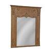 Furniture Classics LTD Carved Reclaimed Mirror