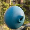 Mango Tree Ellipse 8 inch x 7 inch x 8 inch Birdhouse - Color: Blue - Byer Of Maine Birdhouses