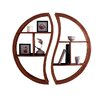 Tikamoon Ying Yang 2 Piece Wall Shelf Set