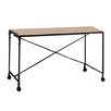 Tikamoon Henry Secretary / Roll Top Desk with Caster
