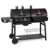 """Char-Griller 48"""" Duo Gas Grill with Charcoal Smoker"""