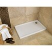Bathroom Origins Urban 55 Shower Tray in White