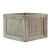 Longcroft Wharf Crates Cement Planter Box - Size: 6.25 inch High x 8.25 '' W x 8.25 inch Deep - Breakwater Bay Planters