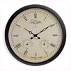 NeXtime Wehlington 25 cm Weather Station Wall Clock