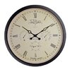 NeXtime Wehlington 45 cm Weather Station Wall Clock