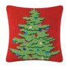 C & F Enterprises Ornamental Tree Hooked Throw Pillow