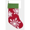 C & F Enterprises Winter Snowflakes Stocking