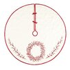 C & F Enterprises Berry Wreath Quilted Tree Skirt