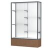 Waddell Monarch Series Lighted Floor Display Case