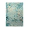 EspritHome Alima Hand-Knotted Turquoise Area Rug