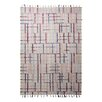 EspritHome Freaky Hand-Woven Beige Area Rug