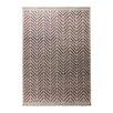 Esprit Handgewebter Teppich Ethno in Lila