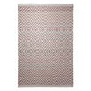 EspritHome Vector Hand-Woven Brown Area Rug