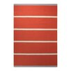 Esprit Handgewebter Teppich Simple Stripe in Orange