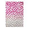Esprit Teppich Snugs in Rosa/Grau