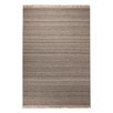 EspritHome Blurred Handwoven Taupe Rug