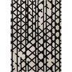 Esprit Handgetufter Teppich Artisan Pop in Schwarz-Weiß