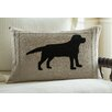 Taylor Linens Lab on Linen Lumbar Pillow