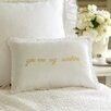 Taylor Linens You are My Sunshine Dijon Linen Boudoir/Breakfast Pillow