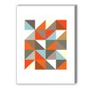 Americanflat Visual Philosophy Harlequin 3 Graphic Art on Canvas