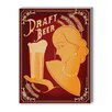 Americanflat Draft Beer Vintage Advertisement on Wrapped Canvas