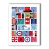 Americanflat London Graphic Art I