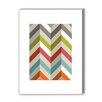 Americanflat Chevrons Graphic Art on Wrapped Canvas
