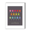 Americanflat Colourful Ants Graphic Art on Canvas