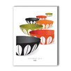 Americanflat Visual Philosophy CathrineHolm Infinity Bowls Graphic Art